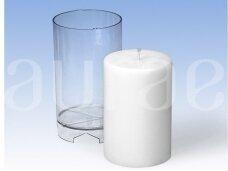 Cilindro forma kietųjų žvakių gamybai 82 mm x 130mm