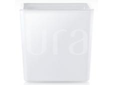 Kvadratinė stiklinė Balta 8x8 cm, 300 ml