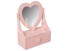 Papuošalų dėžutė rožinė