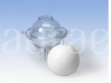 Rutulio forma kietųjų žvakių gamybai DIA65 mm